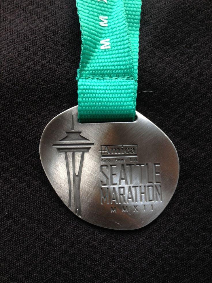 Seattle Half Marathon 2012 medal