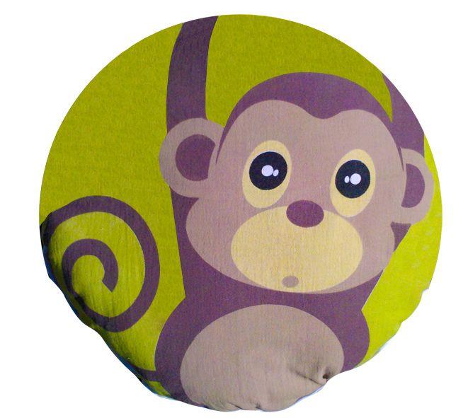 #cojin #chango #almohada #dormir #decoracion #casa #nino #kids http://www.regalosdirecto.com.mx/para-el-bebe/igriega-kids/cojin-elefante.html