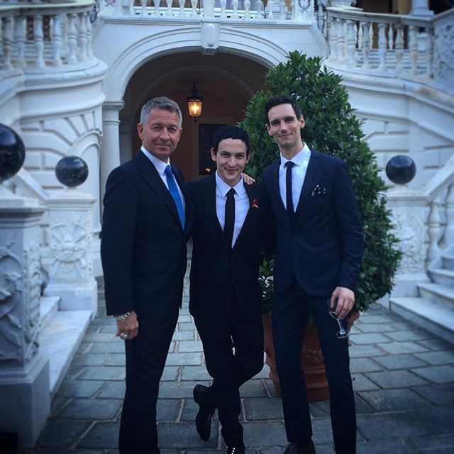From Sean Pertwee's Instagram:  #Gothams Les Trois Stooges #princespalaceofmonaco @robinlordtaylor @corymichaelsmith (I had to borrow a tie)