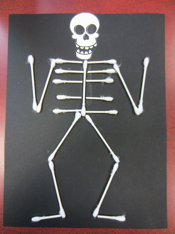 black construction paper  skeleton head clipart  and q