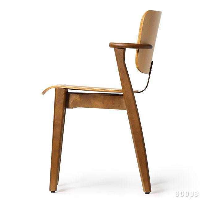 Domus Chair ハニー(S)×ウォールナット(F)