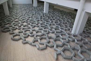 408 Tons Of Imperfect Geometry -Installation view at Malmö Konsthall - Mike Nelson 2012