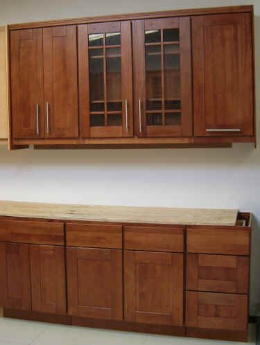 Get started on an aesthetically pleasing #kitchen with wall #cabinets from WOOD ROSE Interiors  #KitchenCabinetMakers http://modular-kitchens.com/kitchen.html