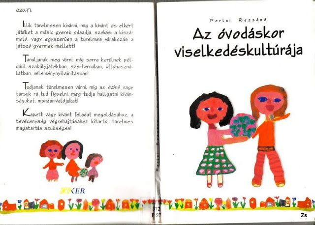 Az óvodáskor viselkedéskultúrája - Kiss Virág - Picasa Webalbumok
