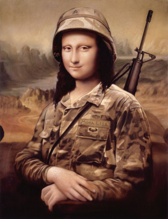 Mona Lisa & the Art of War [Tim O'Brien] (Gioconda / Mona Lisa)