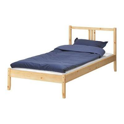 FJELLSE ベッドフレーム, パイン材, ルーローイ, 90x200 cm (390.078.21)