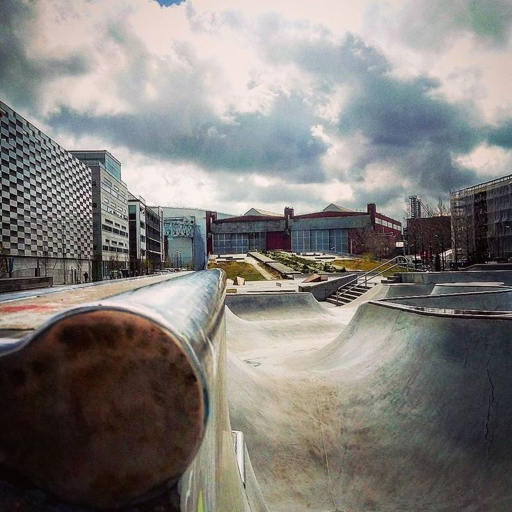 Instagram #skateboarding photo by @slack_orange - Västra Hamnen Malmö. Support your local skate shop: SkateboardCity.co