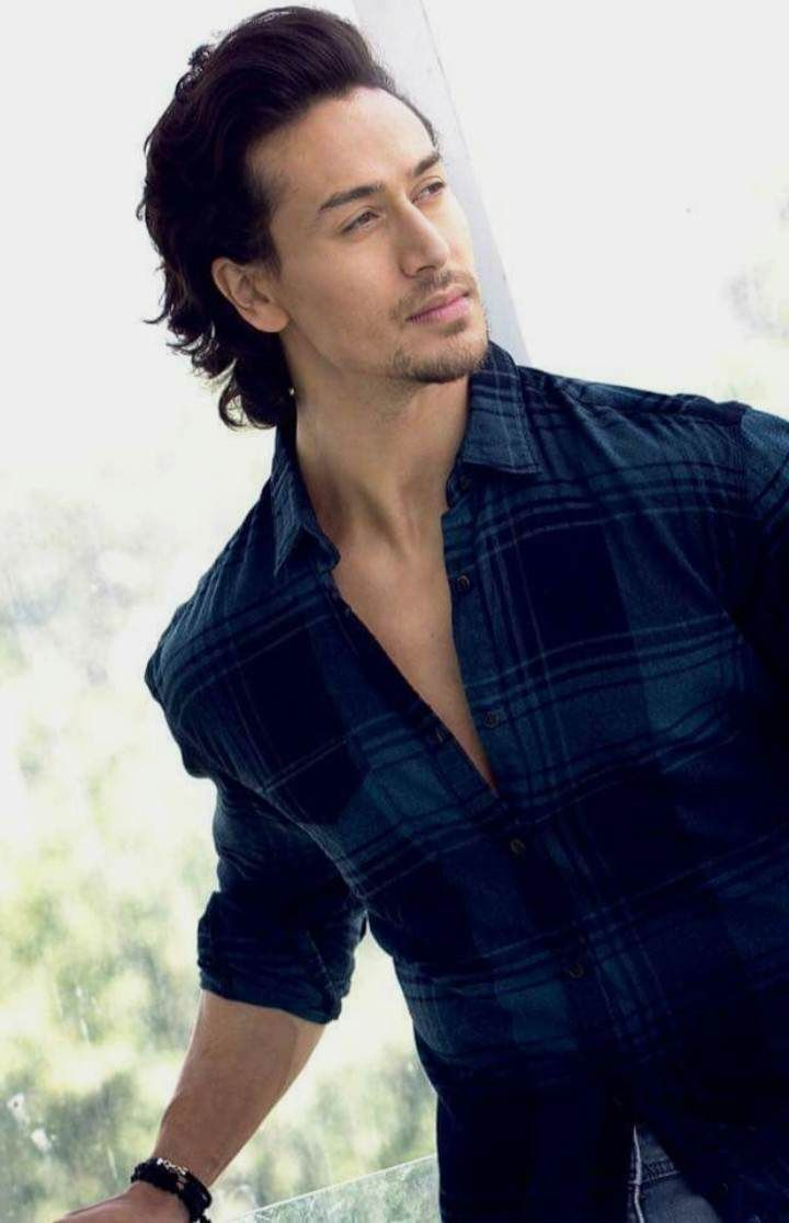 Tiger-shroff-hairstyle  Boy hairstyles, Hair images, Hairstyle