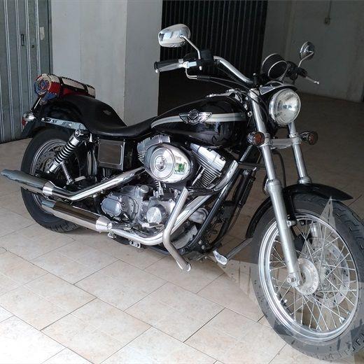 Harley Dyna Super Glide 100th Centenario anno 2003 1450 cc - Nuovo annuncio #Harley #Dyna #Carburatore #SuperGlide #Perugia