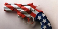 Une affiche américaine contre le port d'armes. | DR