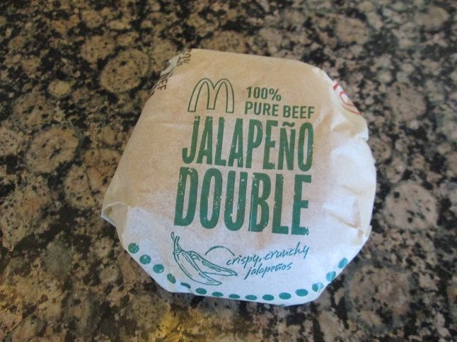 Jalapeno Double from McDonald's