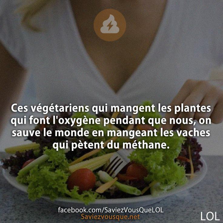 Ces v g tariens qui mangent les plantes qui font l 39 oxyg ne for Tous les plantes