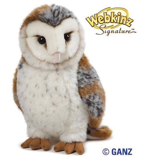 Webkinz Signature Barn Owl $26.95