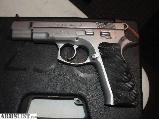 ARMSLIST - For Sale: CZ 75B MATTE STAINLESS 9mmLoading that magazine is a pain! Get your Magazine speedloader today! http://www.amazon.com/shops/raeind