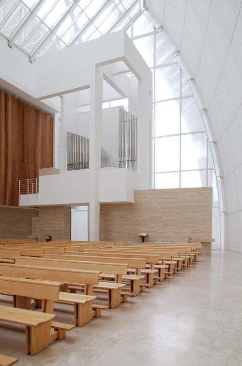 Chiesa Dio Padre Misericordioso (Jubilee Church) Richard Meier