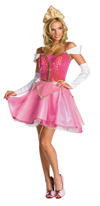 Adult and Teen Prestige Sexy Sassy Aurora Costume - Disney's Sleeping Beauty Costumes