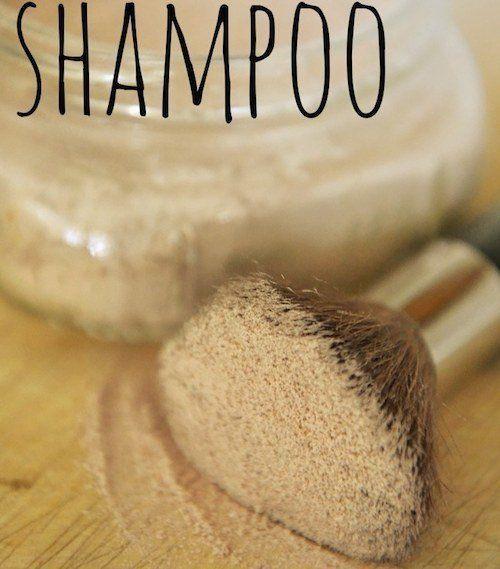 La recette du Shampoing sec fait maison