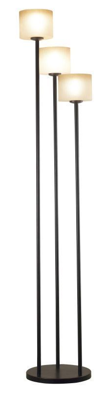 Kenroy Home 21377 Matrielle 3 Light Torchiere Floor Lamp Oil Rubbed Bronze Lamps Floor Lamps Torchiere Lamps