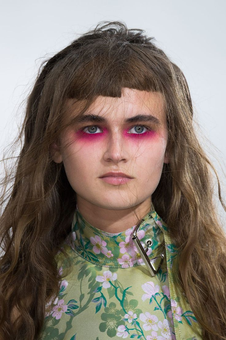 Marques'Almeida Spring 2016   Every Haute Hair and Makeup Trend From Paris Fashion Week   POPSUGAR Beauty