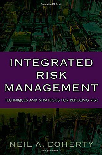 Over the years, risk management has developed separately in both the insurance and financial fields. Today, the two are finding value in each other's tools and techniques. Integrated Risk Management combines the best of the two notions of risk management, insurance and financial, to develop... more details available at https://insurance-books.bestselleroutlets.com/entrepreneurship/product-review-for-integrated-risk-management-techniques-and-strategies-for-managing-corpor