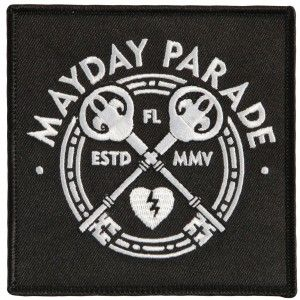 MAYDAY PARADE Keys Embroidered Patch 6.99