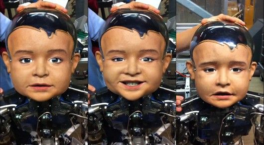 A new humanoid robot based on an infant will help researchers at UCSD study how the brain develops.