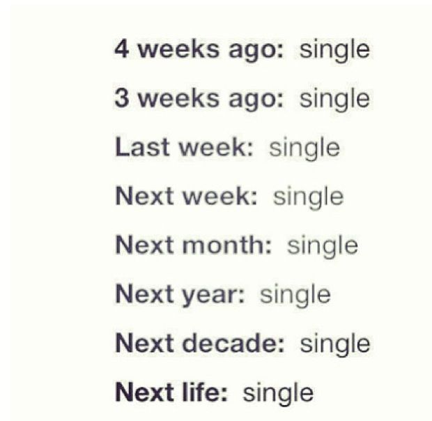 Single Forever Quotes: Single Status