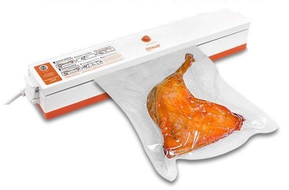 Máquina envasadora selladora al vacío de alimentos + (15 bolsas gratuitas)
