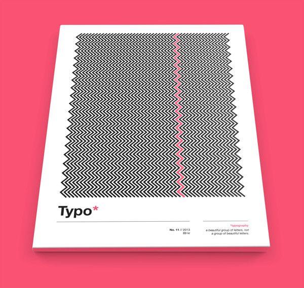 Typographic Magazine by Marie Nilsson, via Behance | Print