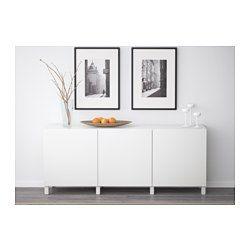 BESTÅ Opberger met deuren, Lappviken wit - - - IKEA
