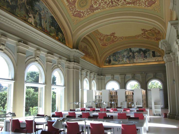 Biblioteca del Museu Nacional d'Art de Catalunya.