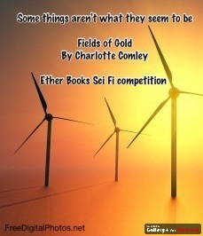 Ether books Sci-Fi competition entry poster