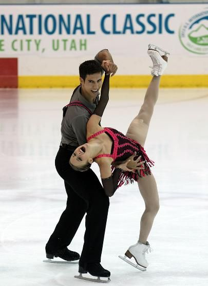Pairs short at U.S. International ClassicPaige Lawrence and Rudi Sweigers