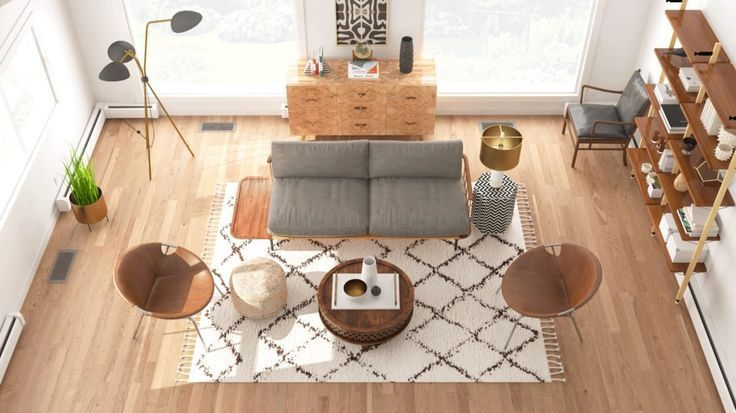 How To Choose The Right Sized Rug How To Choose A Rug Style For My Living Room Design Gu Living Room Rug Size Rug Size Guide Living Room Rugs In