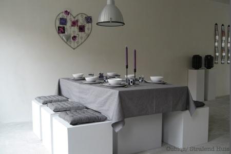 Na #verkoopstyling met Cubiqz kartonnen meubelen