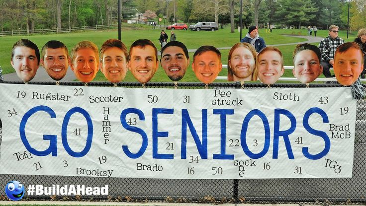 Build-A-Head makes the best, high quality and most affordable Big Head Cutouts. Make Your Own cardboard or foam Senior Night Big Head Cutouts.
