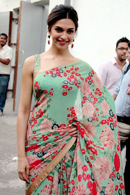 Deepika Padukone's Official Blog Site | Photos, Videos, Photosho — Beautiful Deepika in Saree