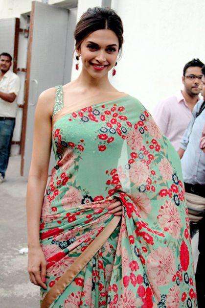 Deepika Padukone's Official Blog Site | Photos, Videos, Photosho — Beautiful Deepika in Saree