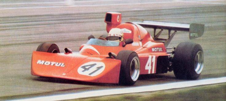 Giorgio Francia - Osella FA2 BMW - Osella Squadra Corse - XI Coupe de l'Avenir - 1975 European Championship for F2 Drivers, Round 12