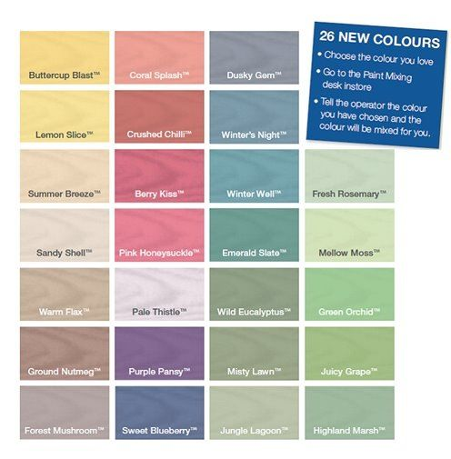 Inspire your garden with cuprinol wood colours available - Cuprinol exterior wood paint colours ...