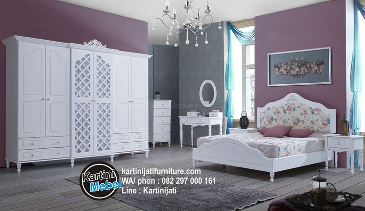 Harga set kamar tidur warna putih, set kamar terbaru winkle, kami dari pihak Kartini Jati Furniture, menawarkan kualitas unggulan terbaik untuk Anda,