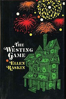 Want to re-read. The Westing Game by Ellen Raskin. A childhood beloved favorite.