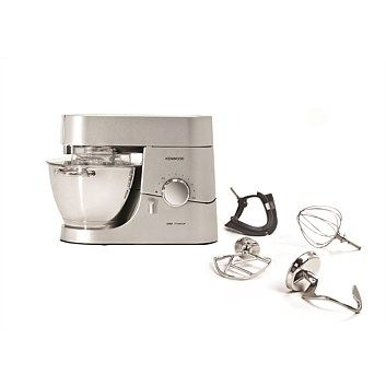 Great range of Kenwood kitchen appliances. Quality items at great prices. Order online at Briscoes & we will deliver right to your door., Kenwood KMC010 Chef Titanium Kitchen Machine