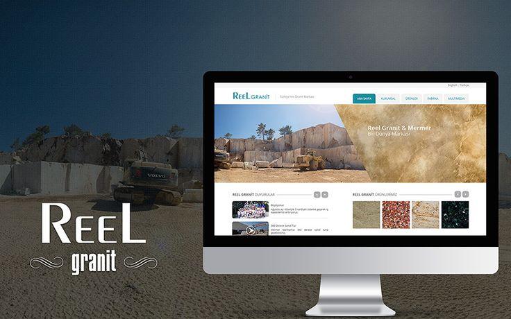Granit ve mermer sektöründe lider Reel Granit firmasının web site tasarımı tamamlanmıştır.