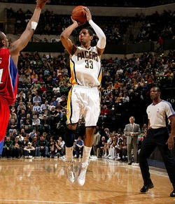 Indiana Pacers small forward Danny Granger is building a Batcave under his Albuquerque, NM home.
