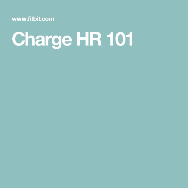 Charge HR 101