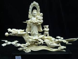 bone carved