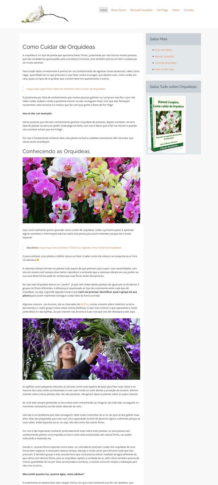 WordPress site floraeplantas.com uses the ConversionWP Premium wordpress theme