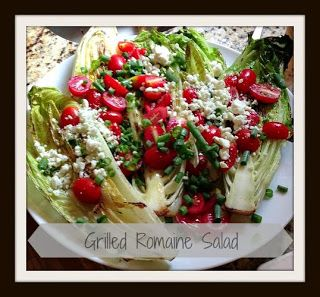 Grilled Romaine Salad | Eat: Salads - Veggies | Pinterest | Grilled ...