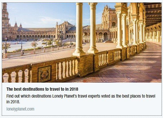 ¡GRANDES NOTICIAS! ¡Según @LonelyPlanet, Pancho Tours va operar en la ciudad #1 DEL MUNDO QUE SE DEBE VISITAR EN 2018: NUESTRA SEVILLA!! ¡Estamos super orgullosos! Visítala con nosotros! Y sobretodo no te pierdas el vídeo del viajero de Lonely Planet @rexcat75. ¡Es precioso! ¡nos vemos... en Sevilla por supuesto!😍😍😍😍GREAT NEWS! According to Lonely Planet, Pancho Tours will operate in the #1 TOP CITY TO VISIT IN 2018: SEVILLE!! We couldn't be prouder. Visit the most beautiful city with…